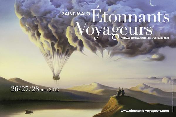 Exposition «le baiser des carpes koï» au festival Étonnants voyageurs